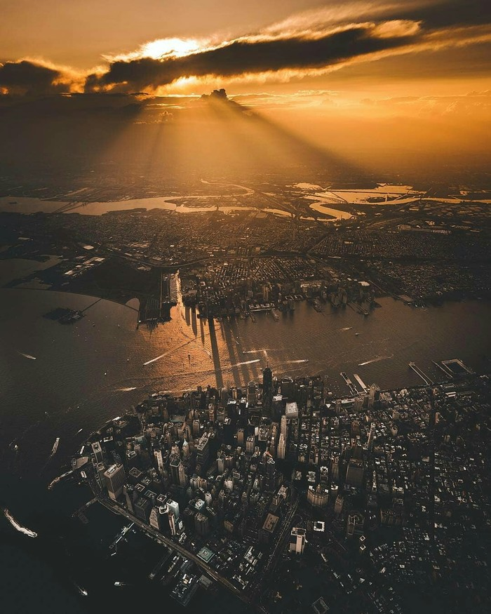 Нью-Йорк на закате
