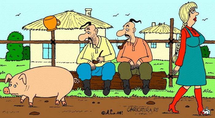 Вот такая нелепая смерть. Деревня, Свинья, Забой скота Природа Село, Юмор, Реальная история из жизни, Длиннопост