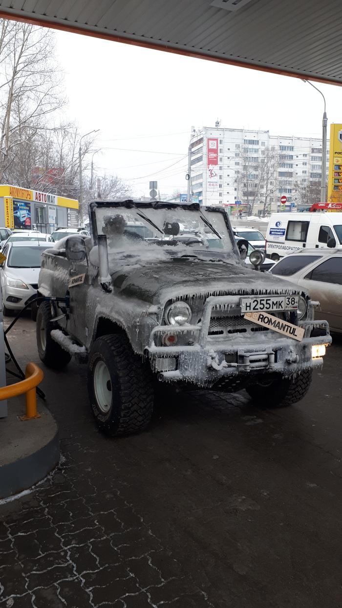 Снежная баба Зима, Иркутск, Длиннопост, Снеговик