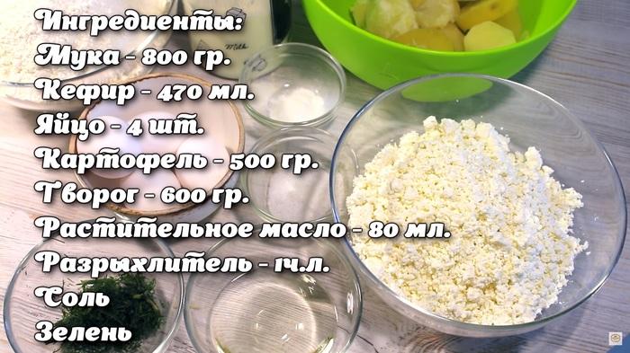 Простые лепешки с картофельно-творожной начинкой на кефирном тесте Еда, Рецепт, Видео рецепт, Лепешки, Лепешки с картошкой, Закрытый пирог, Лепешки с творогом, Кефирное тесто, Видео, Длиннопост