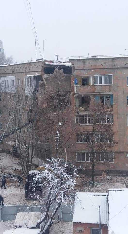 Вот тебе и пятница((( Происшествие, Фастов, Длиннопост, Украина, Взрыв газа