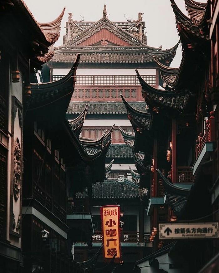 Архитектура Шанхая, Китай