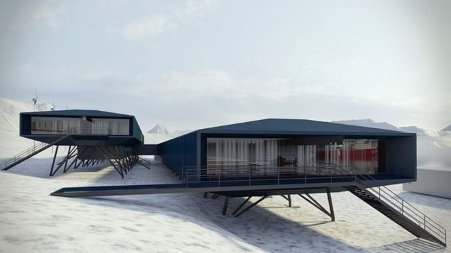 Полярная станция: от деревянных домиков до футуристического шика. Антарктика, Полярные станции, Длиннопост, Антарктида
