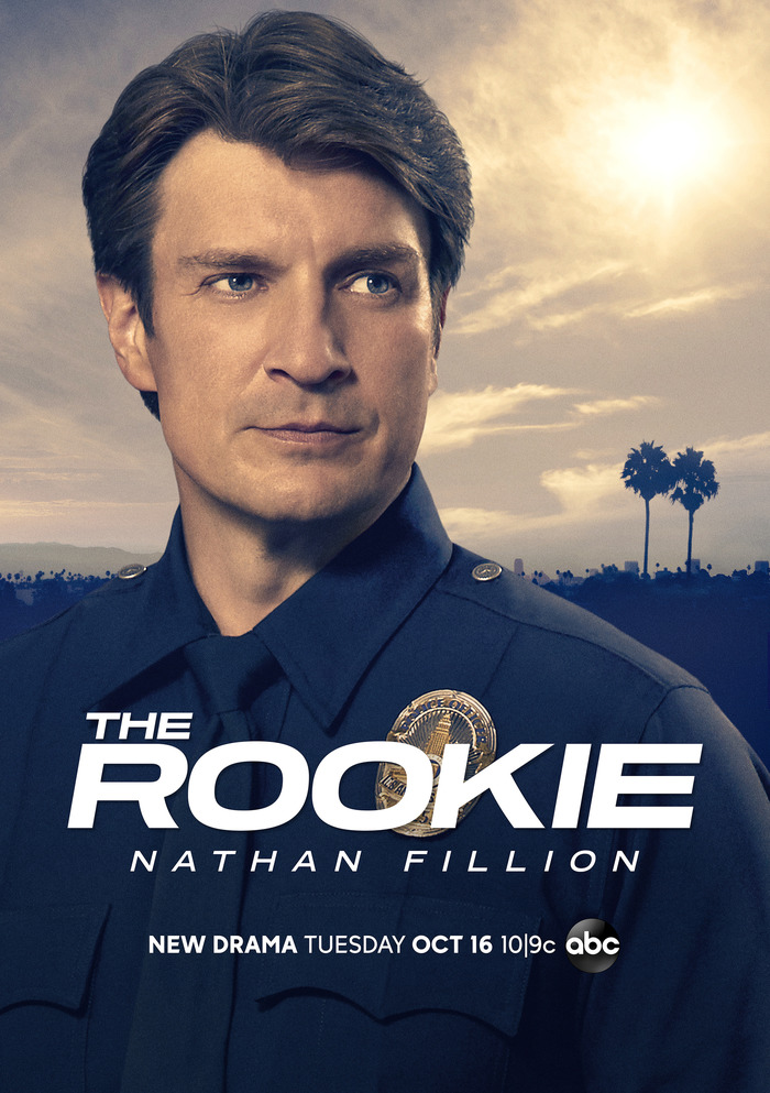 The Rookie Сериалы, The Rookie, Натан Филлион, Полиция, Новобранцы
