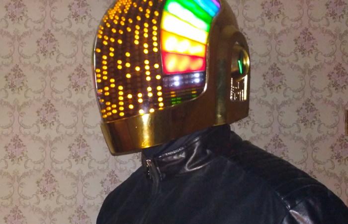 Daft Punk шлем своими руками за 5 месяцев (шлем Guy-Manuel) + видео с процессом создания Daft punk, Helmet, Шлем, Рукоделие с процессом, Косплей, Видео, Длиннопост