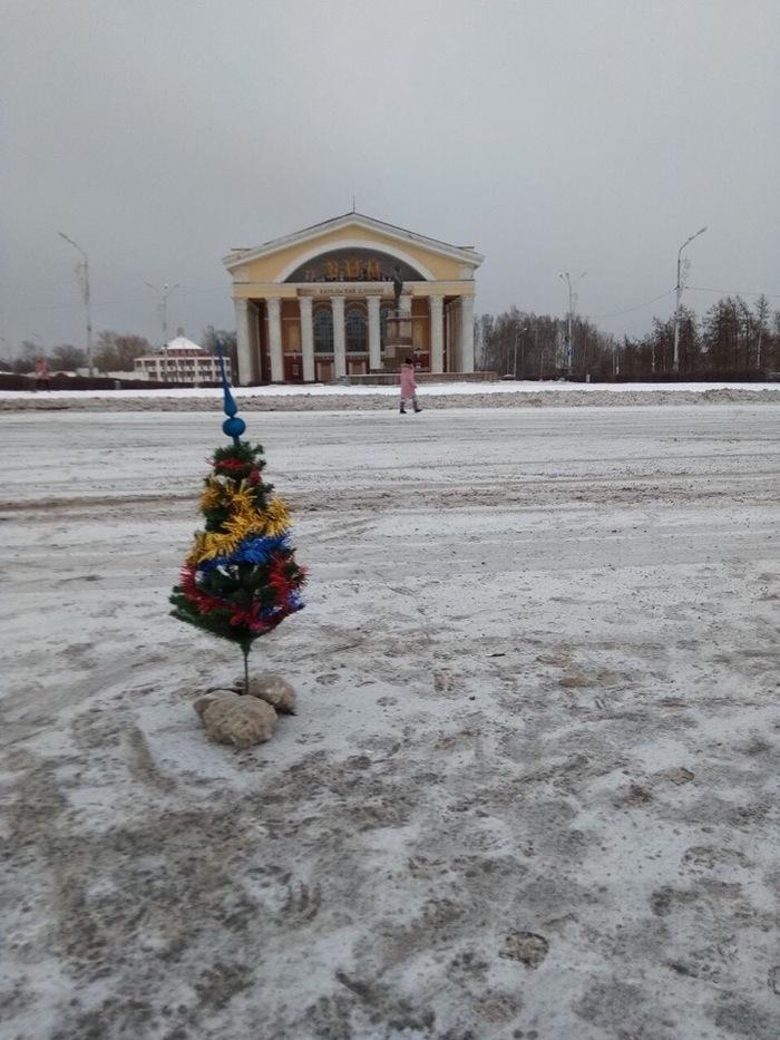 Петрозаводск, с Новым годом! Петрозаводск, Птз, Фотография, Ёлка, Праздники, Новый год