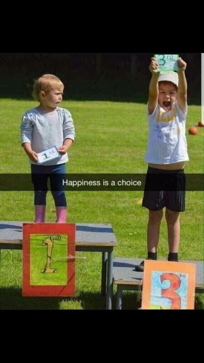 Счастье это выбор