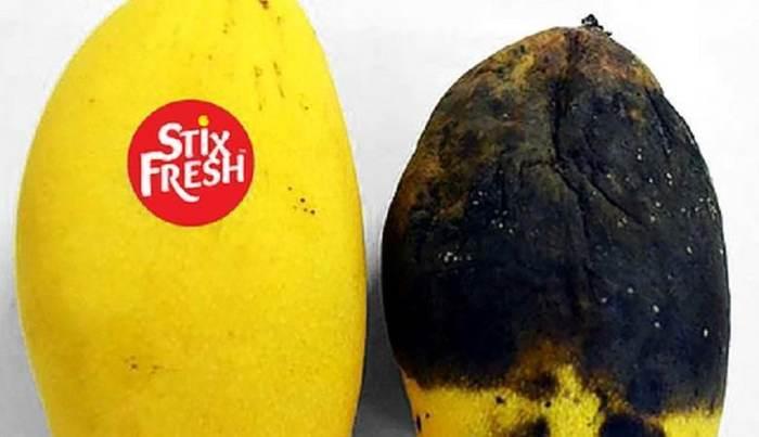 Небольшая наклейка значительно продлевает срок годности фруктов Фрукты, Срок годности, Наклейка, Видео