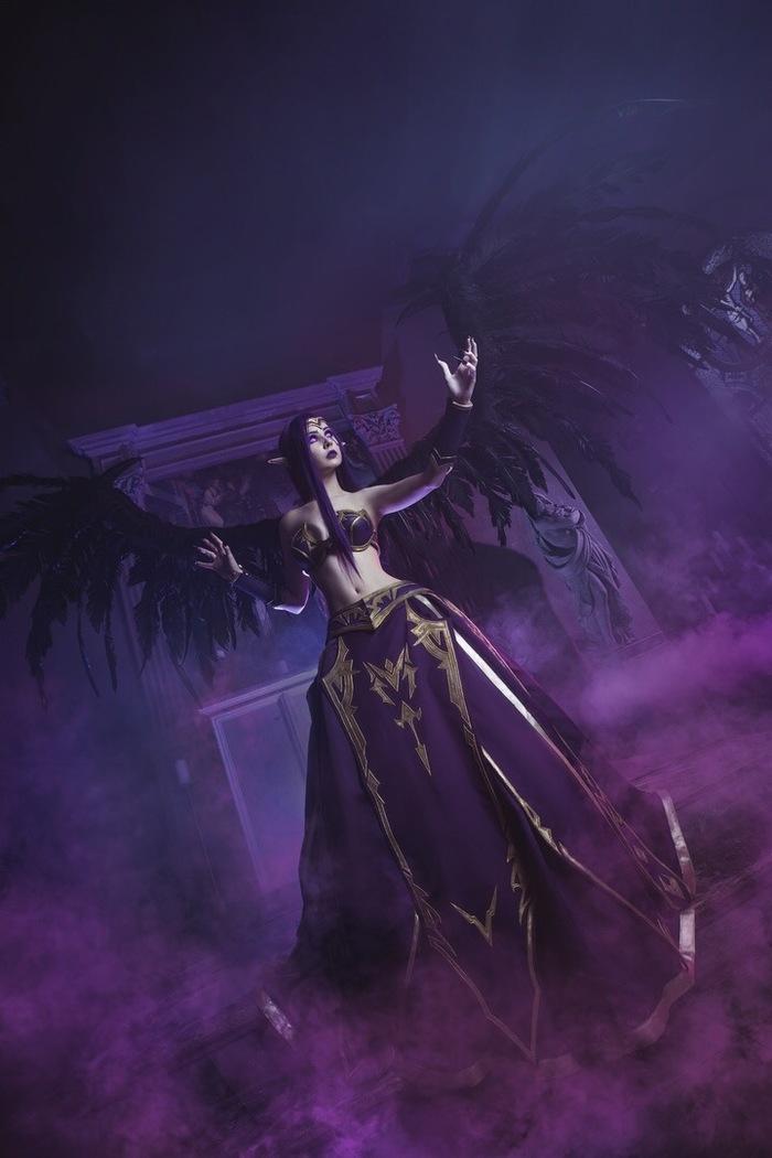 Morgana by Виктория Шулико Косплей, Моргана, League of Legends, Lol, Длиннопост
