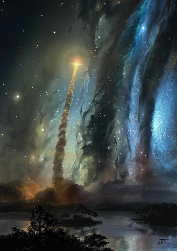 Звёздное небо и космос в картинках 1545064703150325335