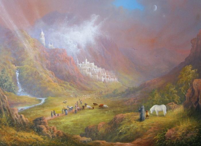 Как был написан «Властелин Колец». Толкин, Властелин колец, Книги, Длиннопост