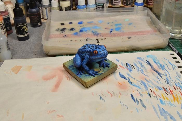 Icefrog. Сувенир на тему Dota 2. Dota, Своими руками, Хобби, Творчество, Компьютерные игры, Полимерная глина, Длиннопост