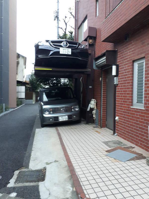 Парковка по-японски