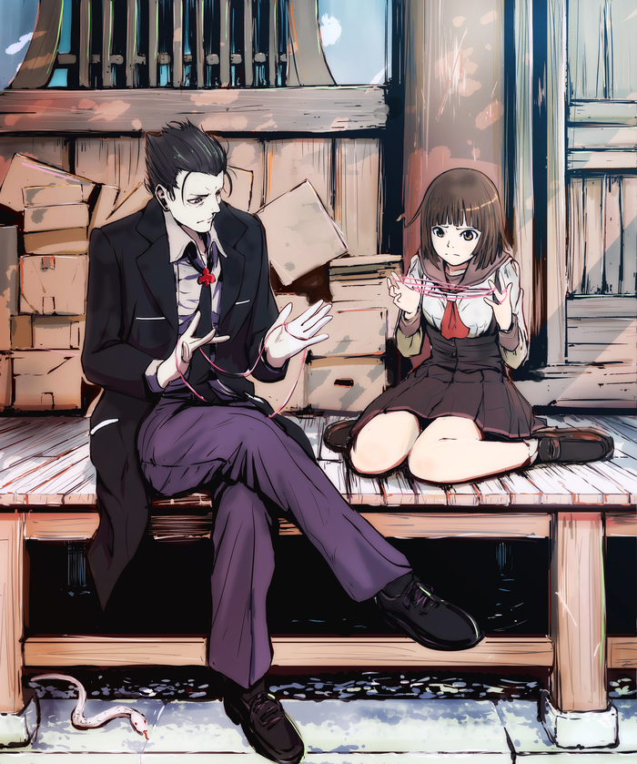 Давай я тебе покажу, как надо Аниме, Anime Art, Monogatari series, Deishuu Kaiki, Sengoku Nadeko
