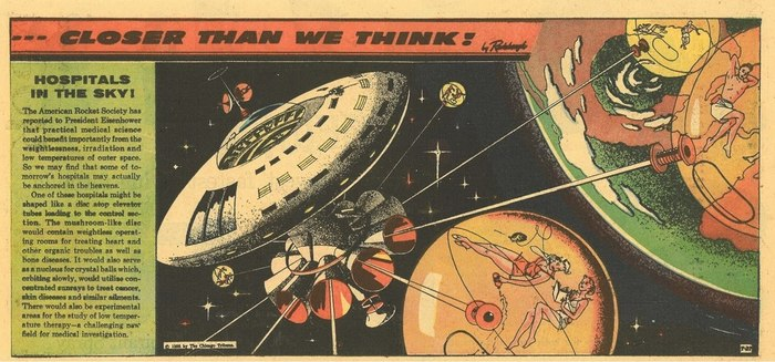 Ближе, чем мы думаем История, Ретро, Техника, Будущее, Мечта, Ретрофутуризм, Длиннопост