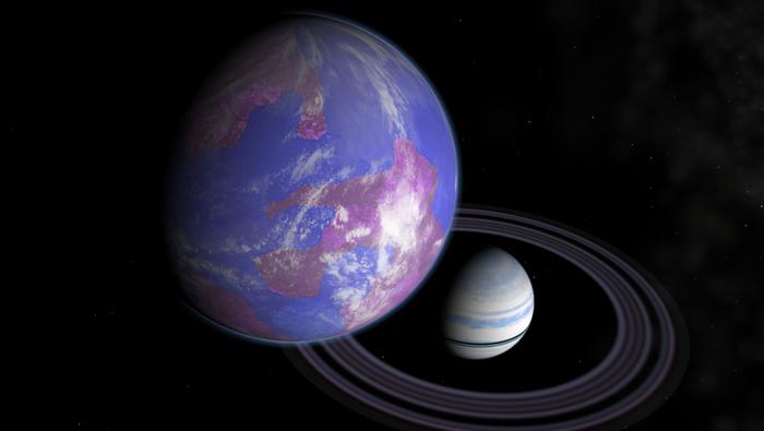 Видос на ночь — Голубая луна. Космос, Внеземная жизнь, Луна, Компьютерное моделирование, Видео, Длиннопост