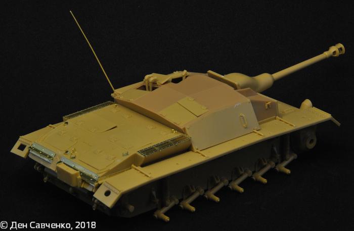 Stug.III ausf.C 1:35 Bronco Стендовый моделизм, Танки, StuG III, Длиннопост