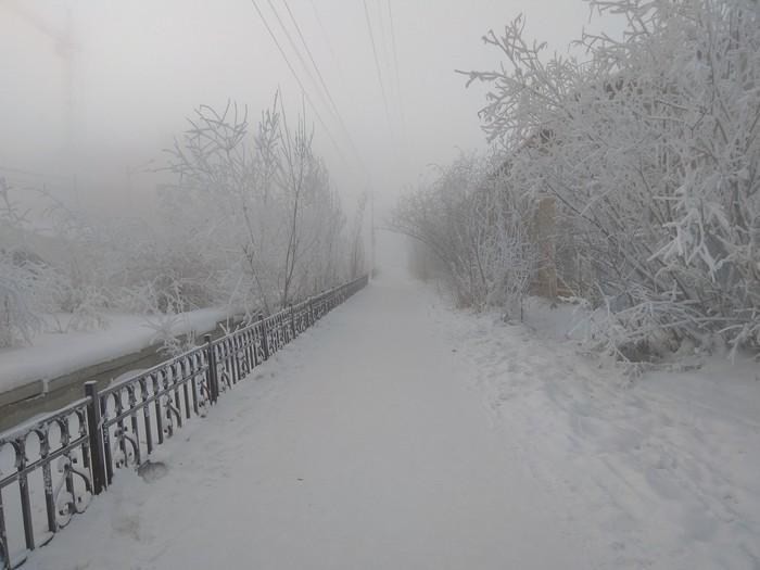 Кто в Якутск хотел переехать? Якутск, Погода, Фотография, Мороз