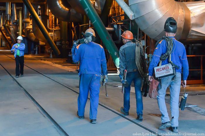 Черепетская ГРЭС. Часть 1 Электростанция, Индастриал, Промышленность, Длиннопост, Как это сделано