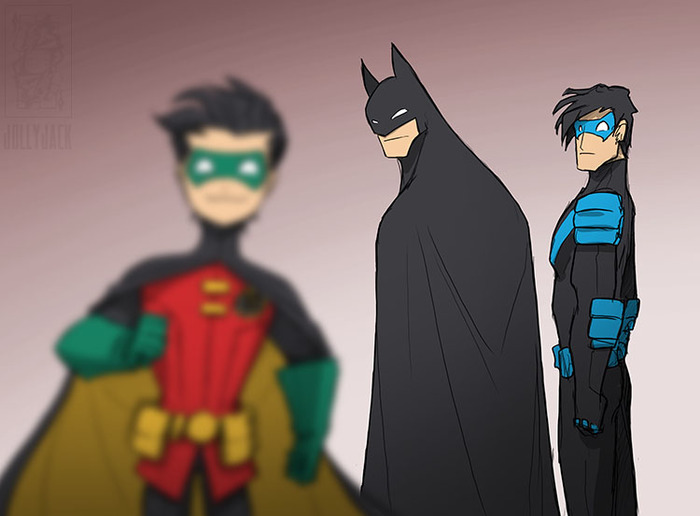 Неверный парень Batman