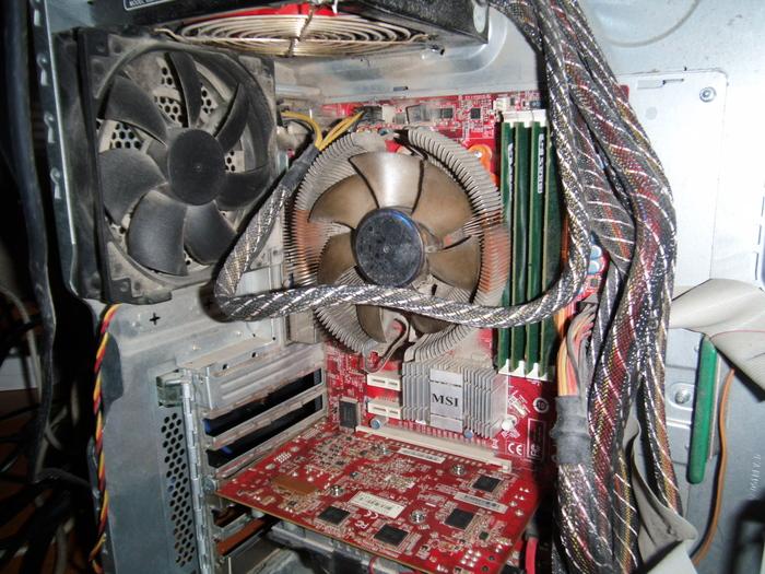 Не делай ремонт компьютера подшофе. Термопаста, Ремонт компьютеров