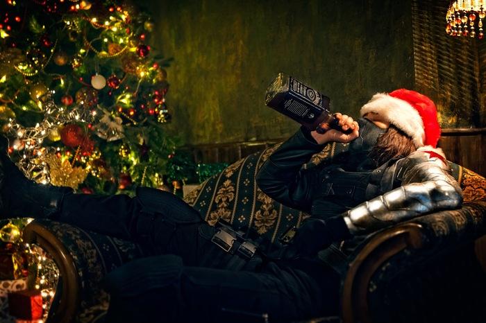 Winter Soldier Christmas Special Edition Косплей, Зимний солдат, Баки барнс, Рождество, Новый Год, Санта-Клаус, Мстители, Длиннопост