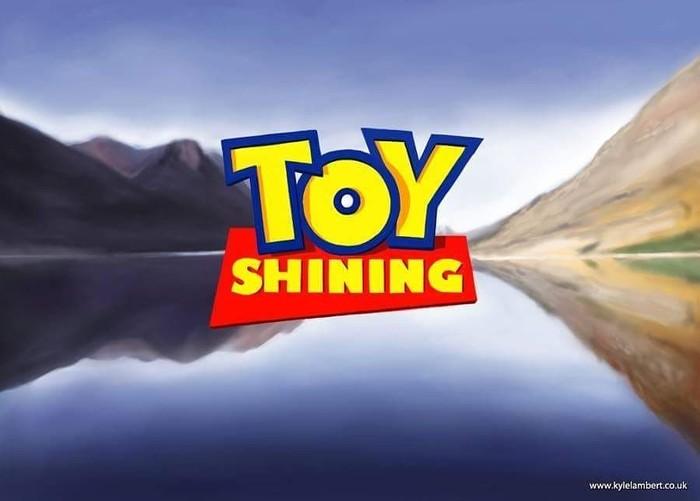 Toy Shining Рисунок, История игрушек, Арт, Сияние, Длиннопост, Crossover