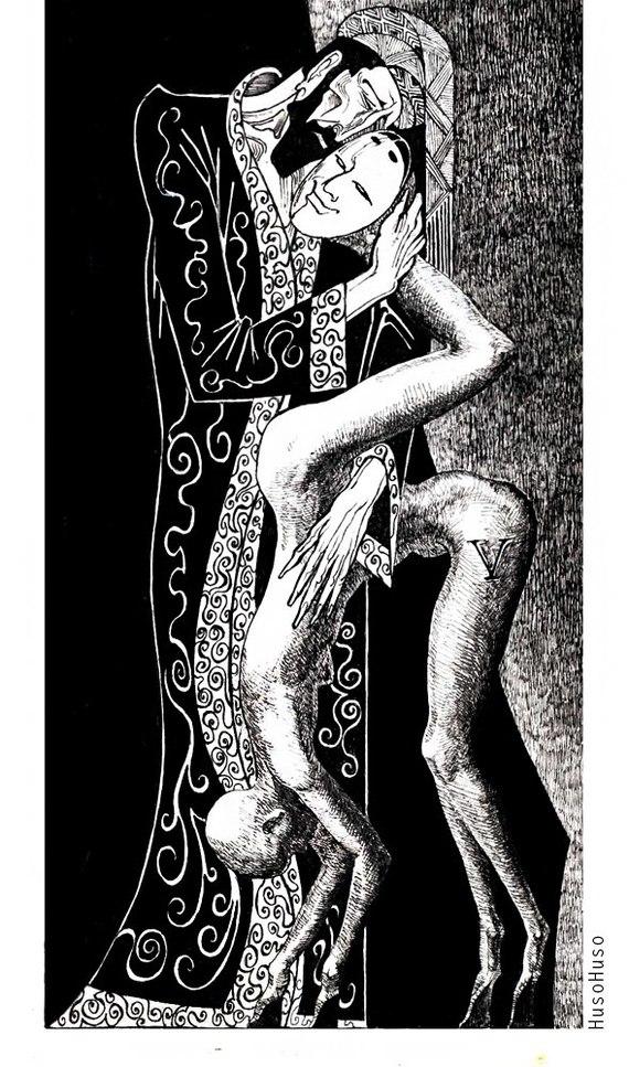 """Квитковская что-то сделала: Арты по """"Мясному Цирку"""" SCP, SCP Art, Мясной цирк, Квитковская, Жесть, Длиннопост"""