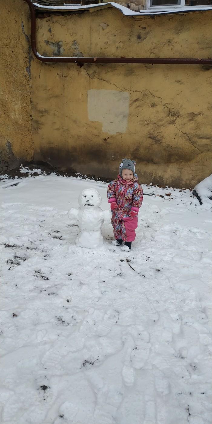 История одного снеговика Снеговик, Зима, Доброта, Длиннопост