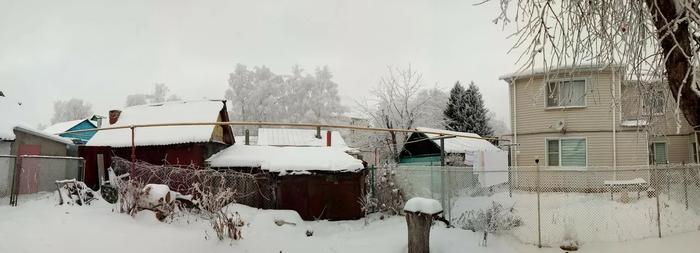 Мороз покуражился. Зима, Декабрь, Красота, Мороз