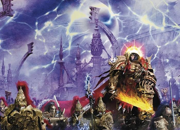"""Император возвращается! Ключевые моменты из новой книги Гая Хейли """"Темный Империум: Чумная Война"""" Warhammer 40k, Император, Roboute Guilliman, Dark imperium, Wh back, Длиннопост"""