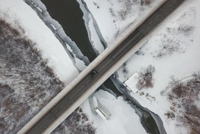 Окрестности Ульяновска Ульяновск, Квадрокоптер, Фотография