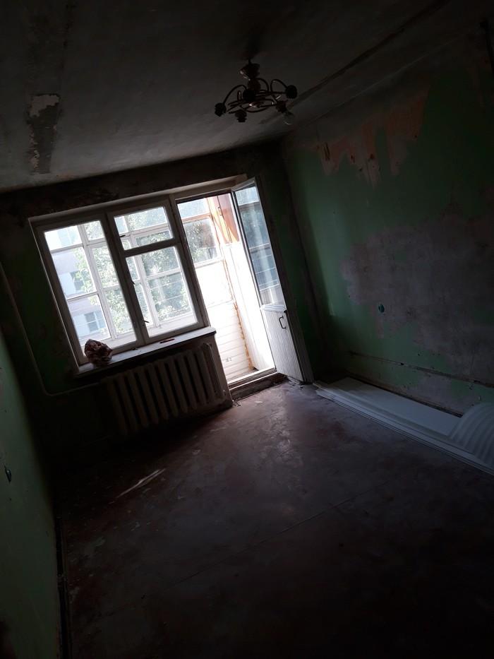 Однушка, продолжение, демонтаж Ремонт, Своими руками, Хрущевка, Однокомнатная квартира, Длиннопост