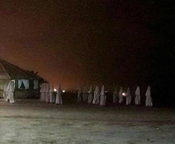 Ночью на пляже Ку-Клукс-Клан, Юмор, 9GAG, Пляж