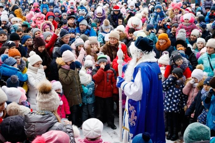 Чебоксары, декабрь 2018 Дед Мороз, Чебоксары