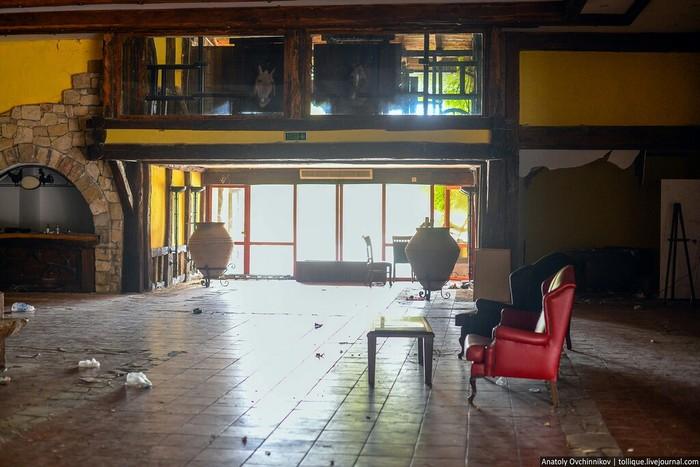 Еще один заброшенный отель Заброшенное место, Турция, Кемер, Интересное, Длиннопост