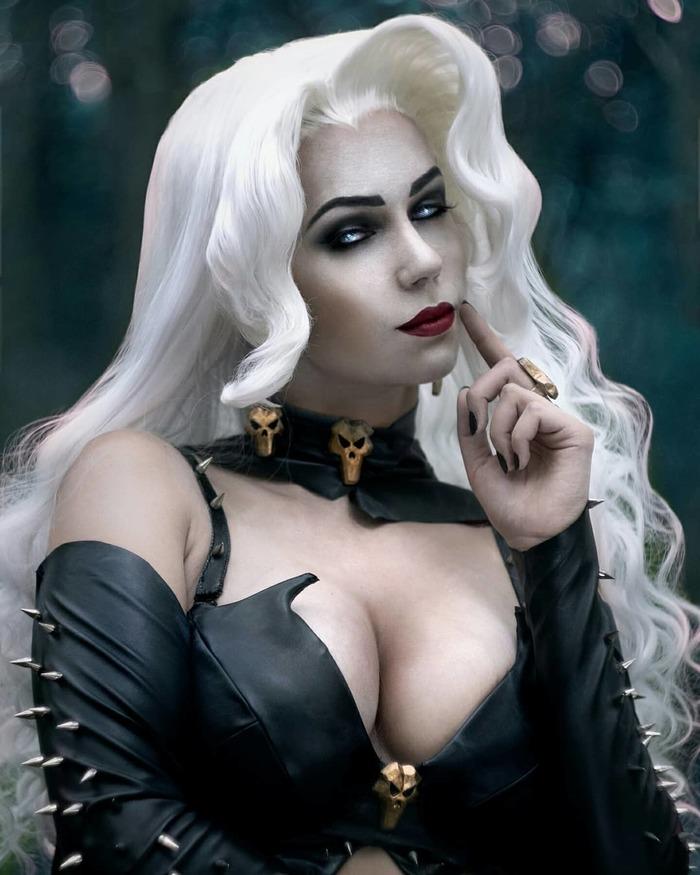 Lady Death Cosplay Косплей, Lady Death, Комиксы, Русский косплей, Девушки, Длиннопост