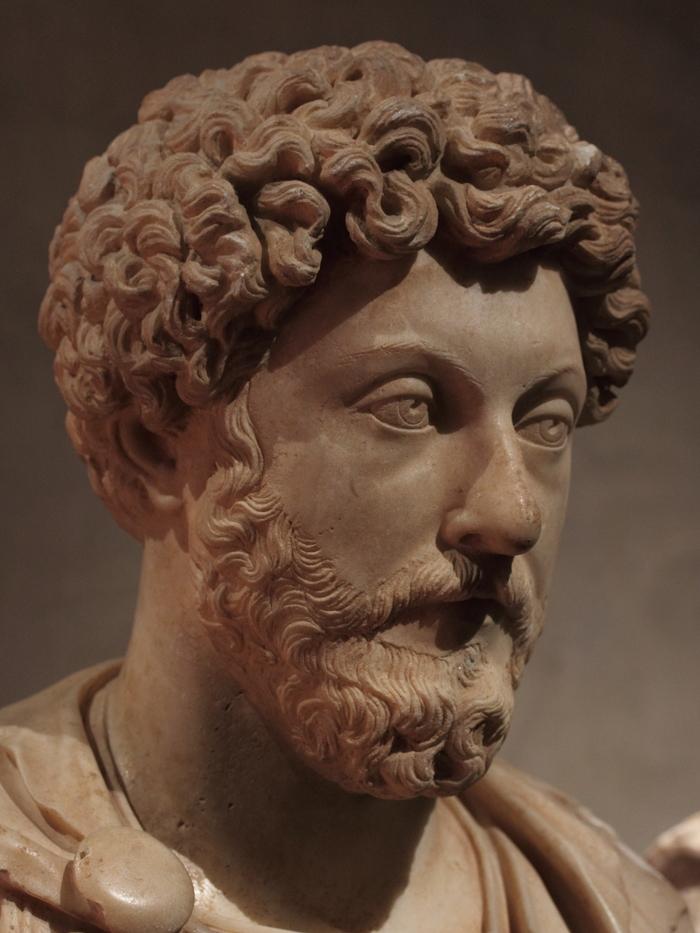 Марк Аврелий, прижизненный бюст, II в. Древний Рим, Скульптура, Портрет, Император, Марк аврелий, Длиннопост