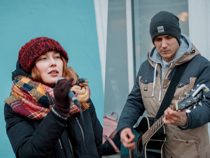 Зимние уличные музыканты в Питере Санкт-Петербург, Уличные музыканты, Фотобродилки, Длиннопост