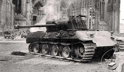 То самое место Кельнский собор в Германии, Вторая мировая война, Фотография, Длиннопост