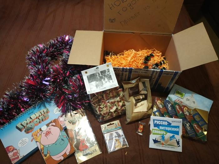 Итак, дары культурной столицы... Отчет по обмену подарками, Обмен подарками, Новогодний обмен подарками, Тайный Санта, Новый Год, Длиннопост