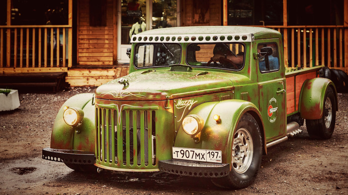Хот-род из советского грузовика МАЗ 502 Маз, Хот-Род, Кастом, Длиннопост, Drive2