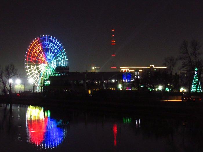 Звезда Анхора. Самое большое колесо обозрения в Центральной Азии открылось в Ташкенте. Колесо обозрения, Ташкент, Аттракцион, Длиннопост