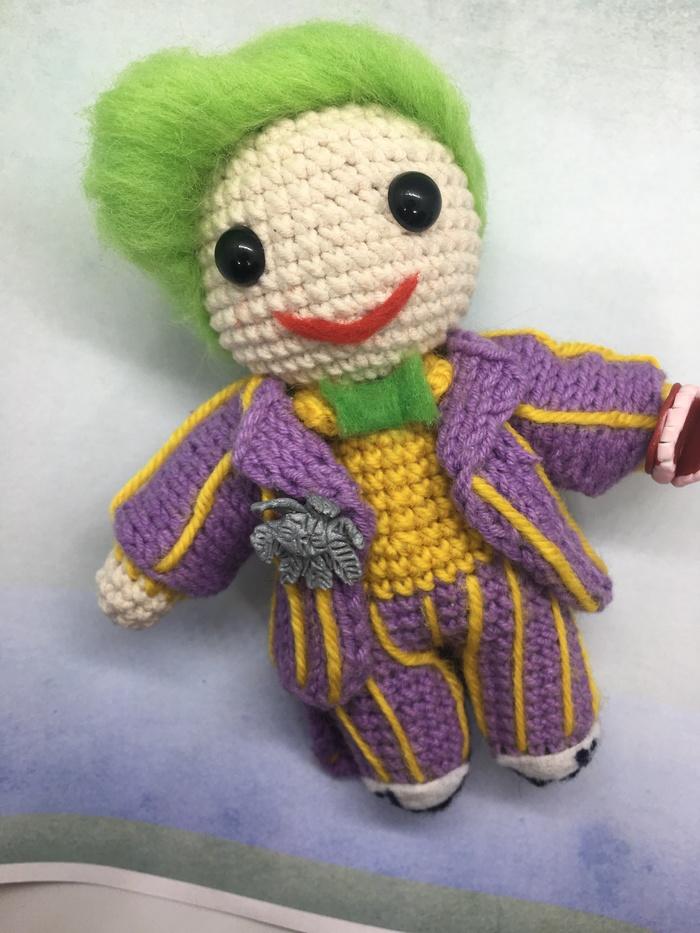 Малыш Джокер Комиксы, Амигуруми, DC Comics, Джокер, Длиннопост