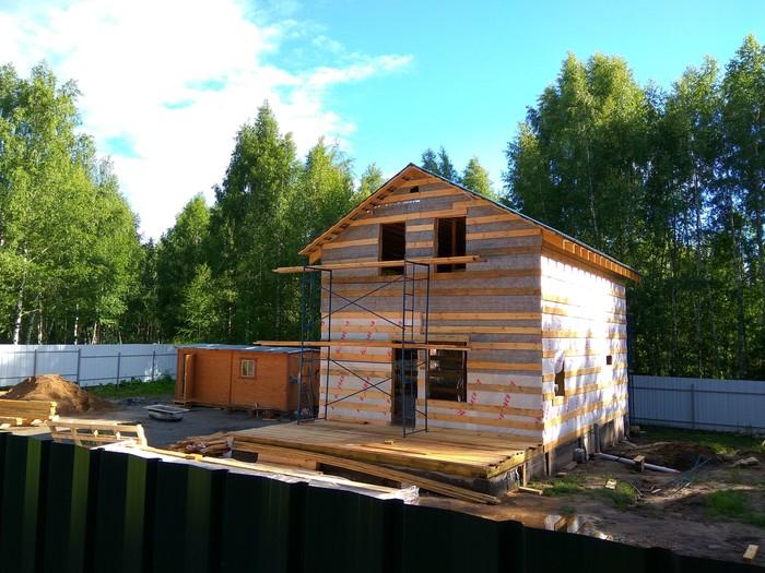 Как я построил дом за год (часть 6, завершение стройки и дела отделочные). Каркасный дом, Свой дом, Строительство, Земельный участок, Длиннопост