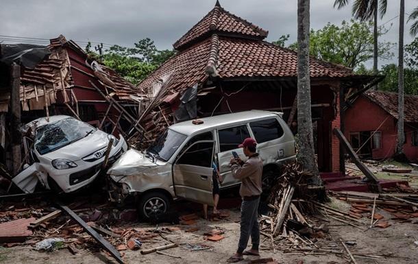 Мощное цунами в Индонезии: кадры последствий Цунами, Последствия, Индонезия, Разрушение, Трагедия, Фотография, Длиннопост