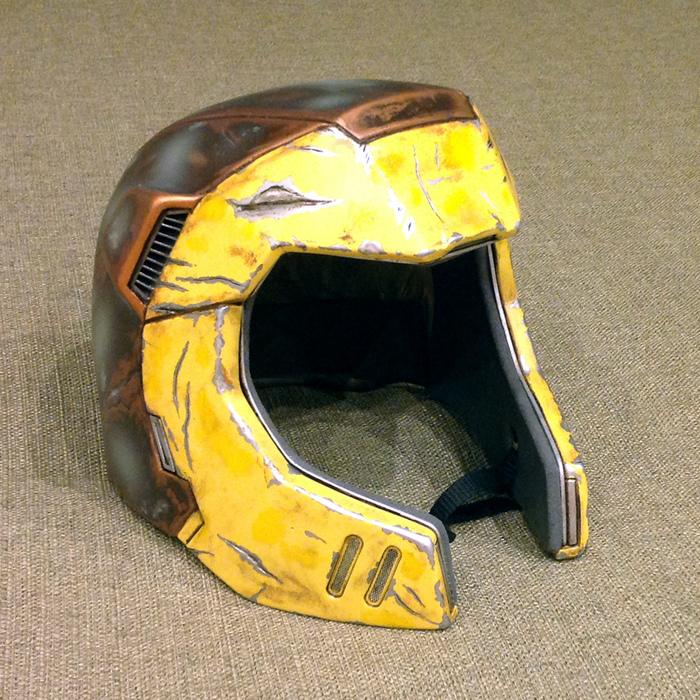 Ranger Helmet из Quake Champions (часть вторая) Pepakura, Quake, Helmet, Рейнджеры, Шлем, Papercraft, Длиннопост
