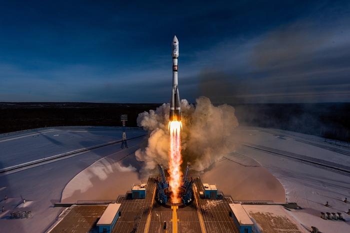 """Старт ракеты """"Союз 2.1а"""" с космодрома Восточный Космос, Ракета, Космодром, Восточный, Союз, Видео, Длиннопост"""