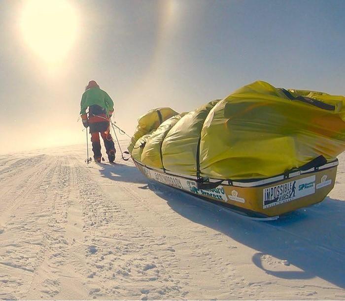 В одиночку через Антарктиду Выживание, Антарктида, Один, Длиннопост
