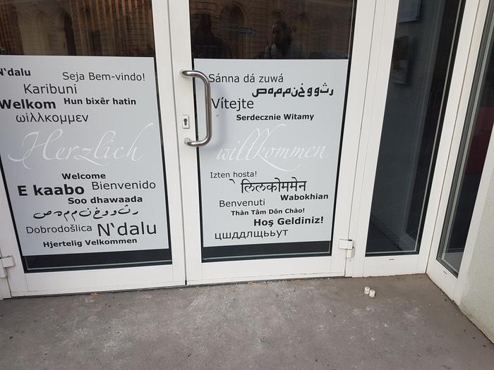 Трудности перевода Австрия, Язык, Трудности перевода, Добро пожаловать